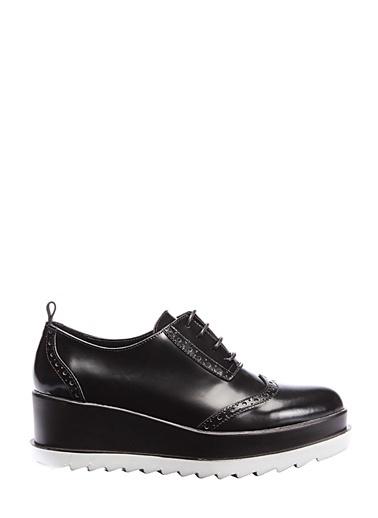 Dolgu Topuk Ayakkabı-İnci